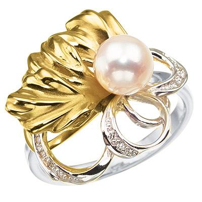 Золотое кольцо Ювелирное изделие K-14031