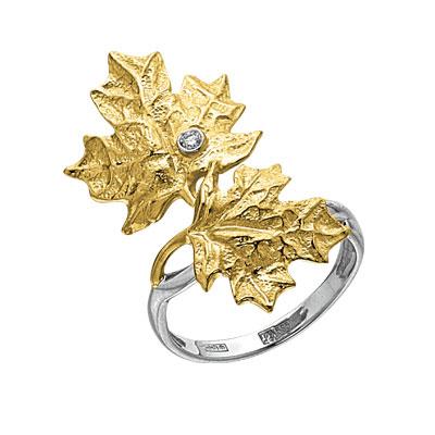 Золотое кольцо Ювелирное изделие K-14038