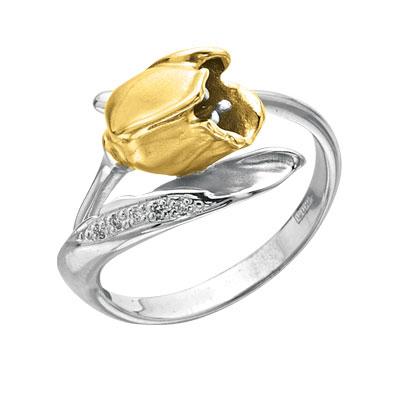 Золотое кольцо Ювелирное изделие K-14039
