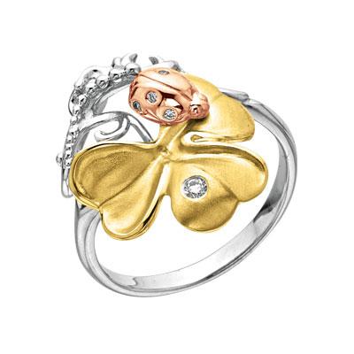 Золотое кольцо Ювелирное изделие K-14040