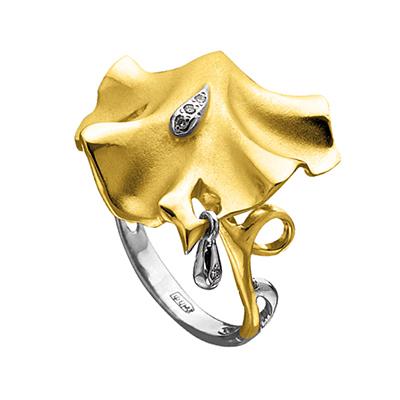 Золотое кольцо Ювелирное изделие K-14046
