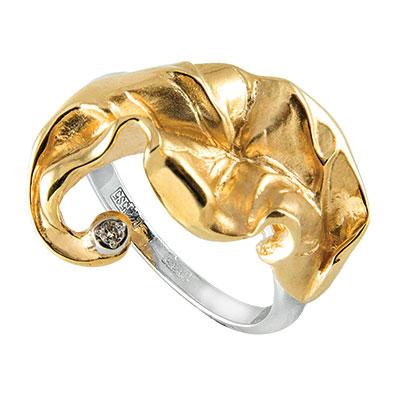 Золотое кольцо Ювелирное изделие K-14050