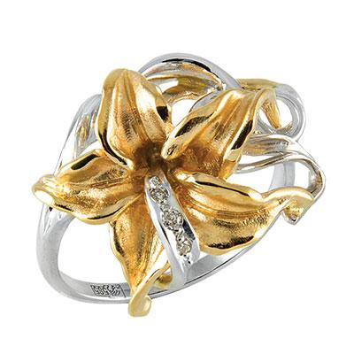 Золотое кольцо Ювелирное изделие K-14051