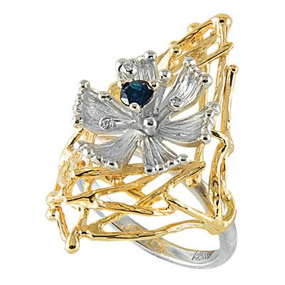 Золотое кольцо Ювелирное изделие K-14052