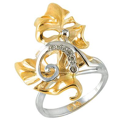 Золотое кольцо Ювелирное изделие K-14055