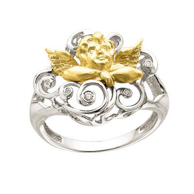 Золотое кольцо Ювелирное изделие K-24023