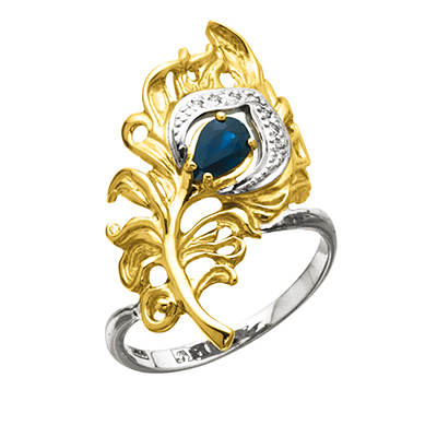 Золотое кольцо Ювелирное изделие K-24025