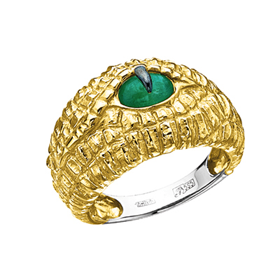 Золотое кольцо Ювелирное изделие K-24026