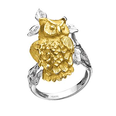 Золотое кольцо Ювелирное изделие K-24029
