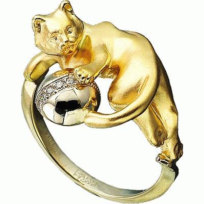 Золотое кольцо Ювелирное изделие K-24030