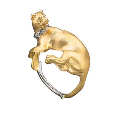 Золотое кольцо Ювелирное изделие K-24032