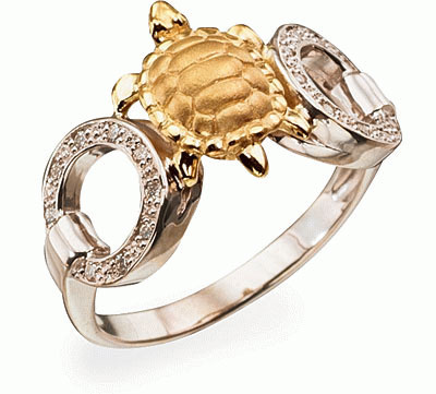 Золотое кольцо Ювелирное изделие K-24037
