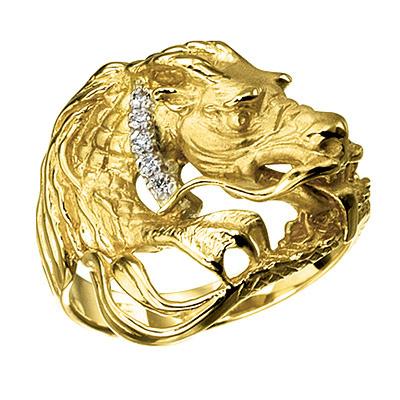 Золотое кольцо Ювелирное изделие K-24039 ювелирное изделие k 42011