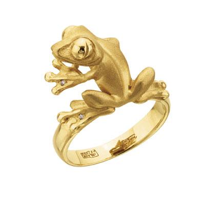 Золотое кольцо Ювелирное изделие K-24050