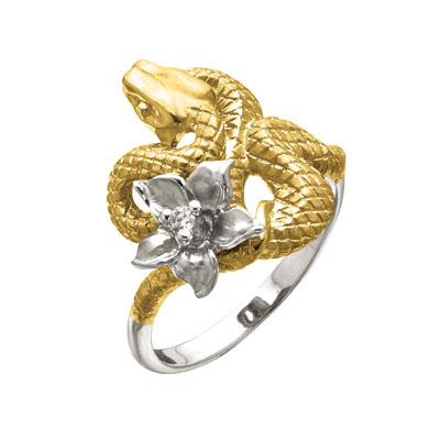 Золотое кольцо Ювелирное изделие K-24053