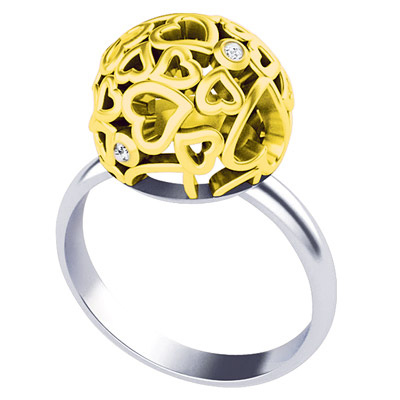 Золотое кольцо Ювелирное изделие K-41001 цена