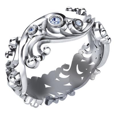 Золотое кольцо Ювелирное изделие K-42011