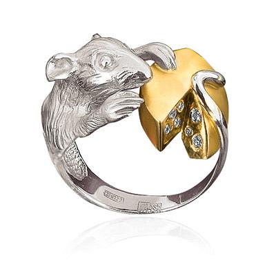 Золотое кольцо Ювелирное изделие K-74002