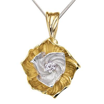 Золотой подвес Ювелирное изделие P-14034 золотой подвес ювелирное изделие 104240