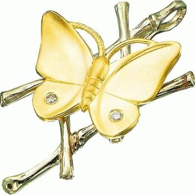 Золотой подвес Ювелирное изделие P-24027 korloff золотой кулон с цепочкой с бриллиантами ktcl7lnpg 45