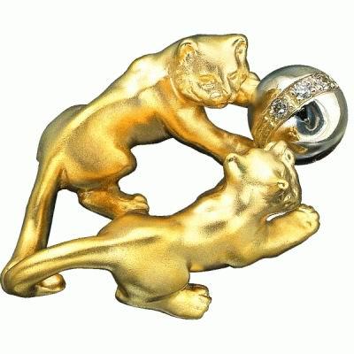 Золотой подвес Ювелирное изделие P-24030 korloff золотой кулон с цепочкой с бриллиантами ktcl7lnpg 45