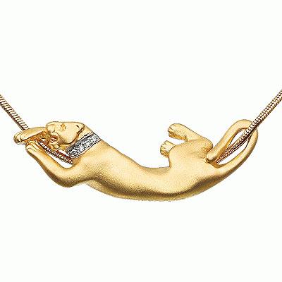 Золотой подвес  Ювелирное изделие P-24032