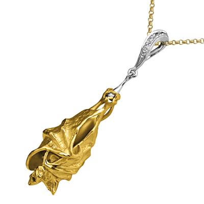 Золотой подвес Ювелирное изделие P-24033 ювелирное изделие 03757rs page 7