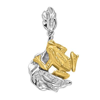Золотой подвес Ювелирное изделие P-24052