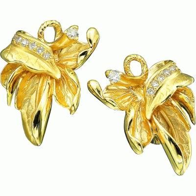 Золотые серьги Ювелирное изделие S-11025