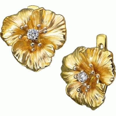 Золотые серьги Ювелирное изделие S-14009 yoursfs высококачественная золотая пластина австрийский хрустальный серьги полые серьги серьги серьги серьги для женщин page 9