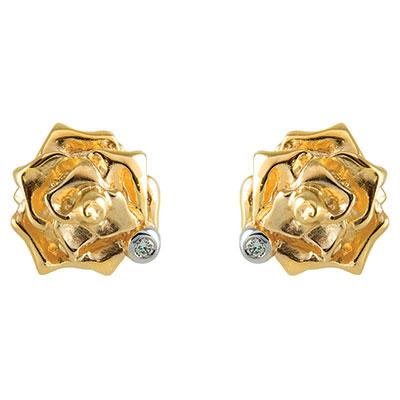 Золотые серьги Ювелирное изделие S-14053p