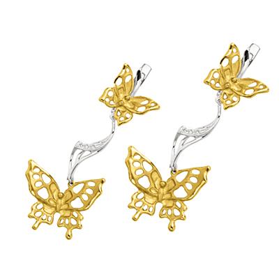 Золотые серьги Ювелирное изделие S-24024