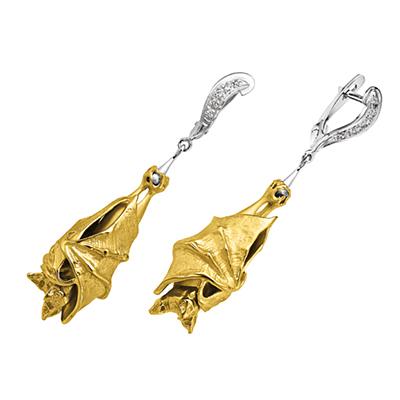 Золотые серьги Ювелирное изделие S-24033 ювелирное изделие s 22038