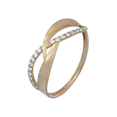 Золотое кольцо Ювелирное изделие A1000202234 кольцо алмаз холдинг женское золотое кольцо с бриллиантами и рубином alm13237661 19