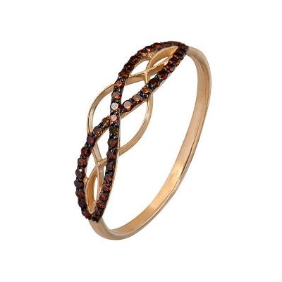 Золотое кольцо Ювелирное изделие A1000202294-2-1 коньячный набор