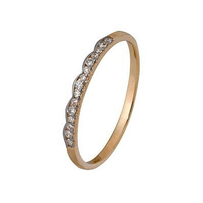 Золотое кольцо Ювелирное изделие A1000202837 магия золота женское золотое кольцо с аметистами и куб циркониями mg81293am z 17 5