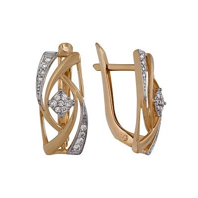 Золотые серьги Ювелирное изделие A1000212655  цены
