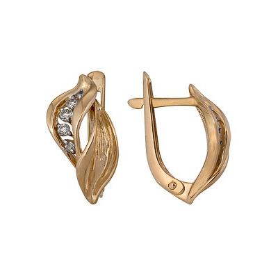 Золотые серьги Ювелирное изделие A1000212754  цены