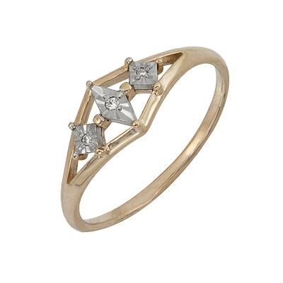 Золотое кольцо Ювелирное изделие A1007101717 ул шумилова д 13 кор 2 квартиру