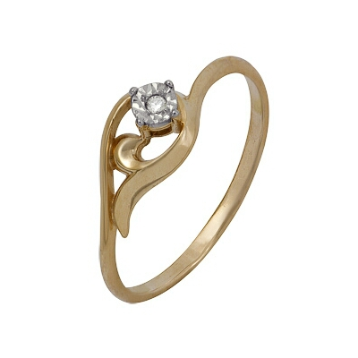 Золотое кольцо Ювелирное изделие A1007102042 золотое кольцо ювелирное изделие a1007102042