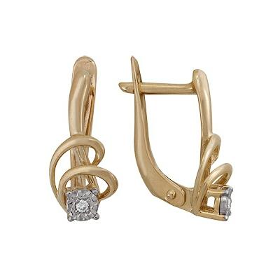 Золотые серьги Ювелирное изделие A1007112041