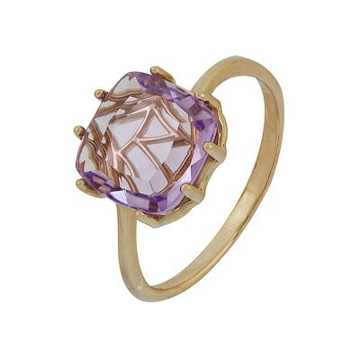 Золотое кольцо Ювелирное изделие A1060001910 кольцо серебро с раухтопазом родник скнрт 8460