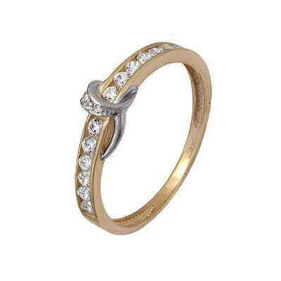 Золотое кольцо Ювелирное изделие A11024344 кольца колечки кольцо тереза фианит