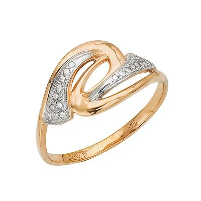 Золотое кольцо Ювелирное изделие A11027363 кольцо алмаз холдинг женское золотое кольцо с бриллиантами и рубином alm13237661 19