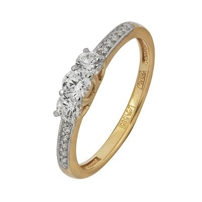 Золотое кольцо Ювелирное изделие A11038325 delta твн 35а