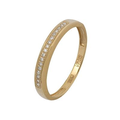 Золотое кольцо Ювелирное изделие A11038341.17 vangold женское золотое кольцо 0101000118676 17