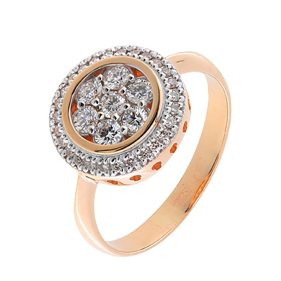 цена Золотое кольцо Ювелирное изделие A11038707