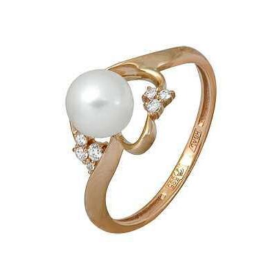 Золотое кольцо Ювелирное изделие A11624348 кольца колечки кольцо тереза фианит
