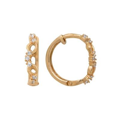 Золотые серьги Ювелирное изделие A1200011319