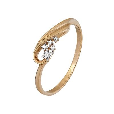 Золотое кольцо Ювелирное изделие A1200202543  крейт д 58 1